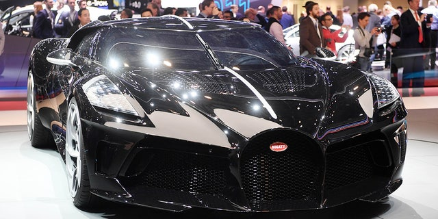 bugatti sold the world's most expensive new car for $18.9 million
