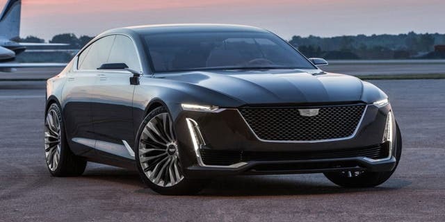 The 2016 Cadillac Escala concept previewed the CT5's design.