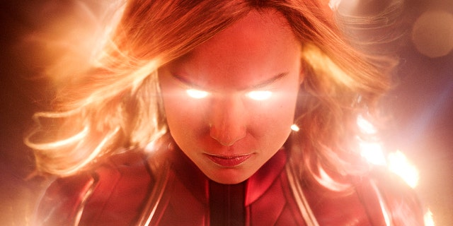 "Brie Larson as Carol Danvers in ""Captain Marvel"""
