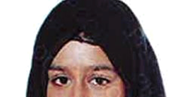 """British ISIS bride Shamima Begum (pictured) admitted that she's unlikely to come back to Britain after the government revoked her citizenship, but insisted that the terror group """"brainwashed"""" her."""