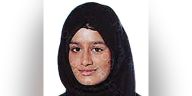 "British ISIS bride Shamima Begum (pictured) admitted that she's unlikely to come back to Britain after the government revoked her citizenship, but insisted that the terror group ""brainwashed"" her."