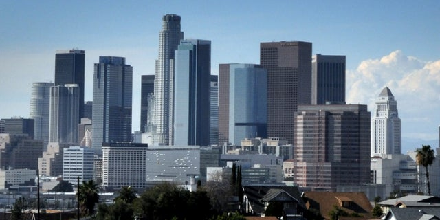 The temperature did not reach 70 degrees in downtown Los Angeles for all of February -- the first time in at least 132 years when forecasters began recording data, according to a report.