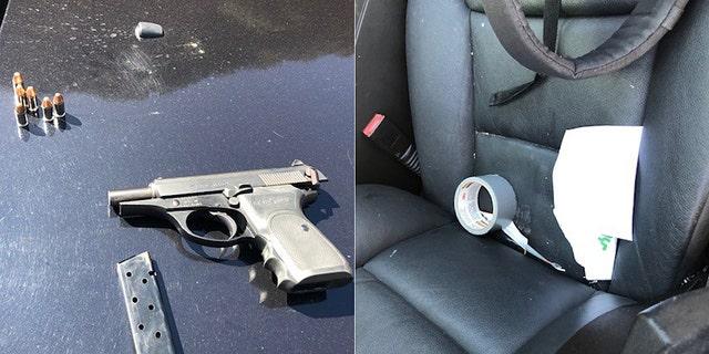 Ruban à conduits et véritable arme à feu utilisée dans une vidéo musicale, prise à tort pour un enlèvement