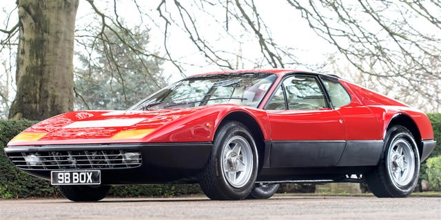 Bonhams estimates the sale price for the Ferrari will be between $300,000 and $400,000.