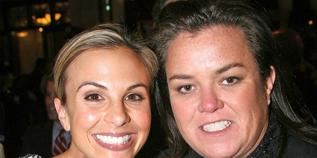 Elisabeth Hasselbeck and Rosie O'Donnell.