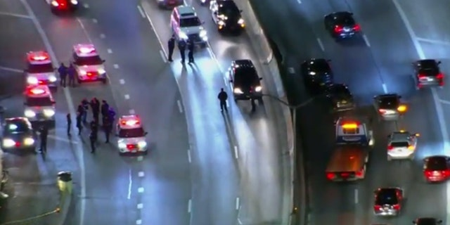 The chase Thursday night occurred on the FDR Drive, one of the busiest roads in New York City.