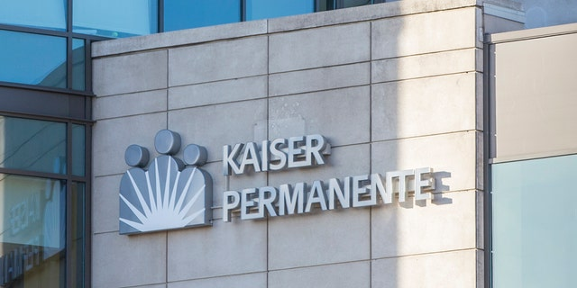 February 10, 2018 - Bellevue, WA, USA: A Kaiser Permanente glass building on a sunny day