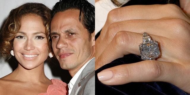 Jennifer Lopezs Engagement Rings From Alex Rodriguez To -9981