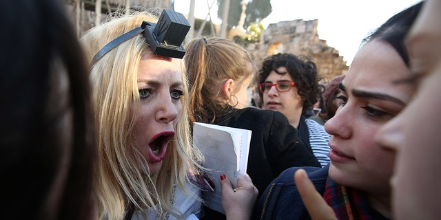 Brawls broke out on Friday between thousands of young ultra-Orthodox Jews and a group of progressive Jewish women at the Western Wall in Jerusalem over their right to pray at one of Judaism's holiest sites.
