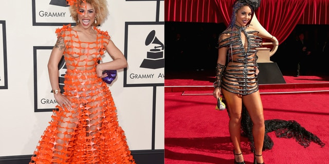 Joy Villa at the 2015 and 2016 Grammys