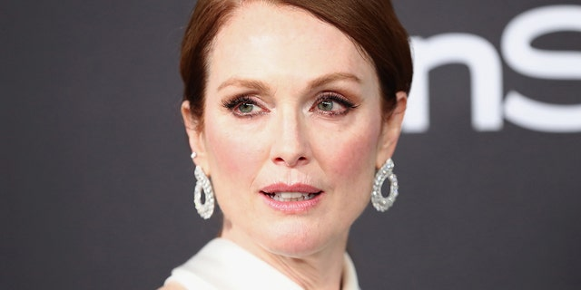 """Julianne Moore said she believes in """"quotas"""" to gain gender parity in Hollywood. The Oscar winner said at the Cannes Film Festival that women, as 52 percent of the world's population, needed more representation in film."""