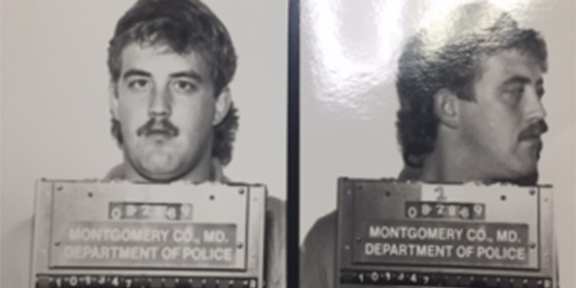 Mug shot for Kenneth Day when he was 24 in 1989. Police last week tied Day to an unsolved 1989 in Rockville, Md., using DNA and forensic genealogy.
