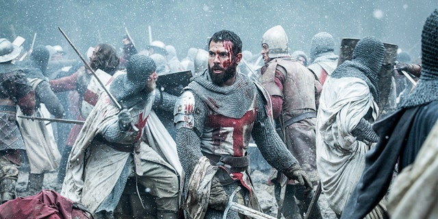 "Tom Cullen in History Channel's ""Knightfall."""
