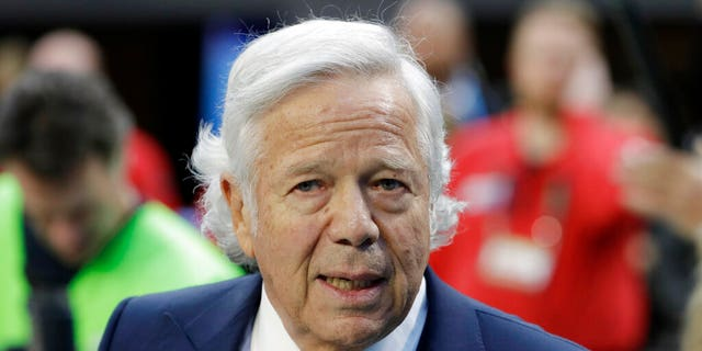 Palm Beach County Judge Joseph Marx ruled Monday that prosecutors can't use the surveillance footage video that allegedly shows the 77-year-old New England Patriots owner Robert Kraft engaging in paid sex at a massage parlor, according to a report. (AP Photo/Chris O'Meara, File)