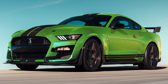 performance enhancing pigment  ford mustangs grabber lime paint   steroids fox news