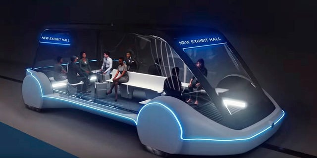 Autonomous shuttles have been proposed for the system.