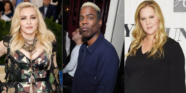 Madonna, Chris Rock and Amy Schumer