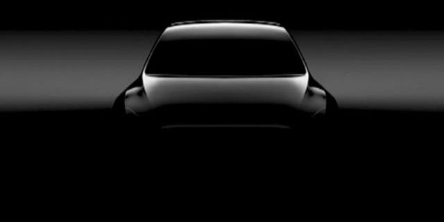 Tesla has previously revealed only shaded computer renderings of the Model Y.