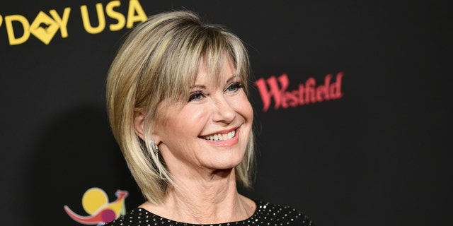Olivia Newton-John attends 2018 G'Day USA Los Angeles Black Tie Gala