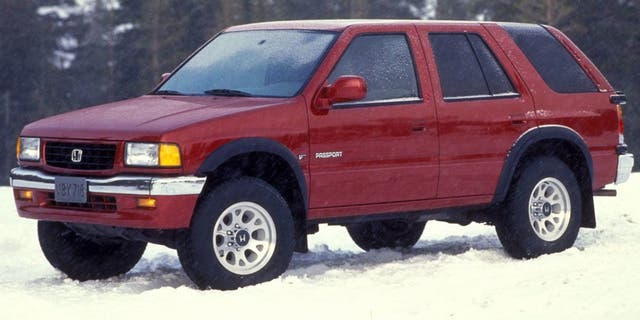 The original Honda Passport was a rebadged Isuzu Rodeo