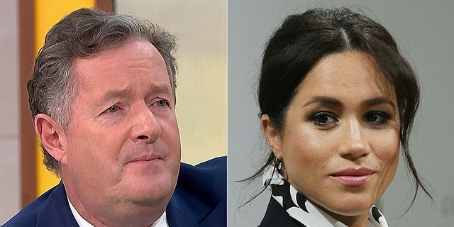 "positive news Morgan has criticized Markle on a regular basis since she ditched life as an actress for Prince Harry. Last week, he took a victory lap when news broke that Harry and Markle would take ""a step back"" as senior members of the royal family."