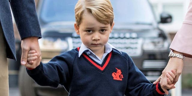"Prince George, 5, goes to school at Thomas's Battersea and is reportedly halfway through ""Year 1"" at the co-ed school. (Reuters)"