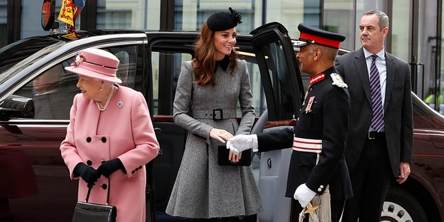 The outing is Middleton's alone with the monarch since she married into the royal family in 2011