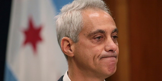 Chicago Mayor Rahm Emanuel announced last September that would not seek a third term in office. (Associated Press)