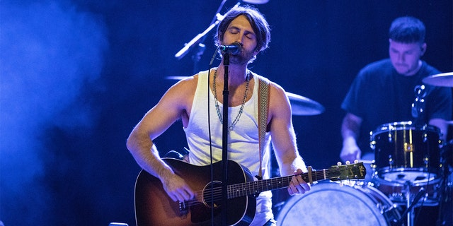 Ryan Hurd performs onstage at Exit In on February 28, 2019 in Nashville, Tennessee.