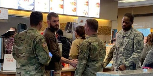 As the family grieves his passing, one of his brothers paid the Chick-fil-A bill for 11 servicemen, in remembrance of their loved one and to raise awareness of post-traumatic stress disorder.