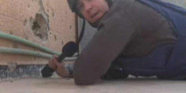 """Fox News correspondent Benjamin Hall in Syria called the scene """"devastating."""""""