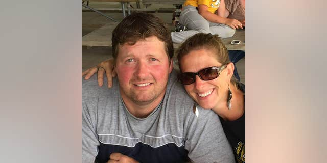 Todd Mullis and Amy Mullis in a September 2016 photograph posted on Facebook.