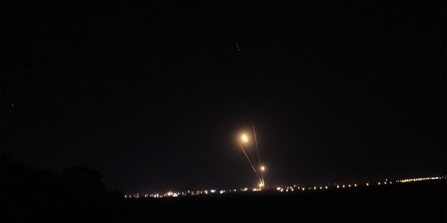 Just before 6 p.m. local time, the Israeli Air Force began pounding Gaza with airstrikes in response to a rocket being fired into central Israel earlier in the day.