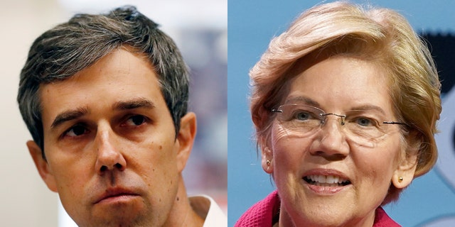 Beto O'Rourke and Massachusetts Sen. Elizabeth Warren have different ideas about how to tackle the problems of Big Tech.