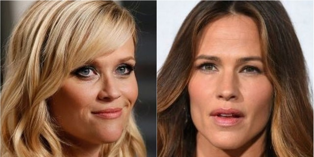 Reese Witherspoon (left) and Jennifer Garner (right) poked fun at a recent magazine cover involving what they say are fake pregnancies.
