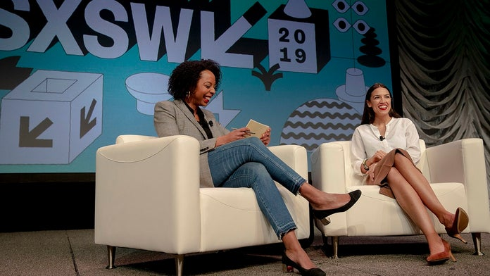 Ocasio-Cortez draws bigger crowd at SXSW than 2020 candidates Warren, Klobuchar