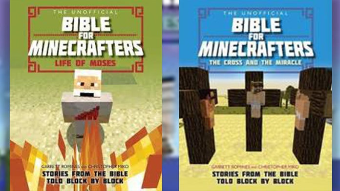 Schools find Minecraft-themed books are a good way to teach kids Bible stories