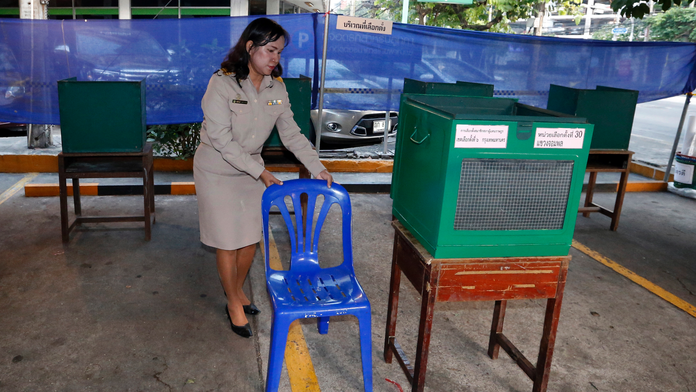 Voting underway in Thailand's first election since 2014 coup