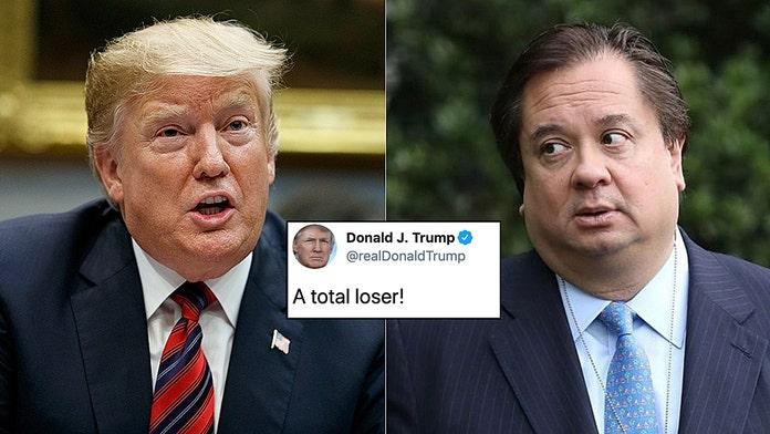 Donald Trump slams Kellyanne Conway's husband as 'total loser'