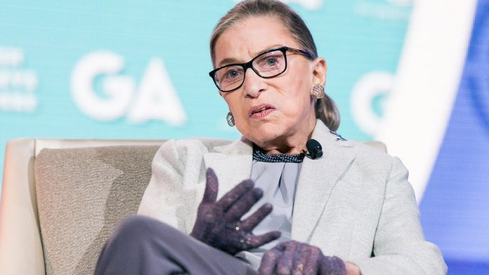 Ruth Bader Ginsburg wins 'best real-life hero' during MTV award ceremony