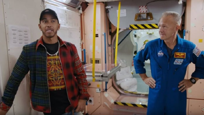 F1's Lewis Hamilton questions astronauts about moon landing hoax: report