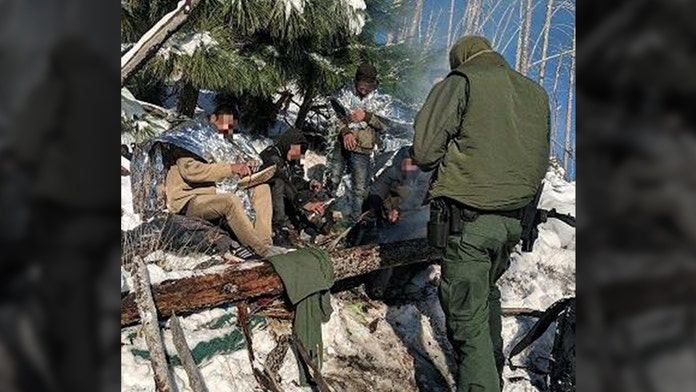 Illegal aliens rescued from freezing, snowy mountain by Arizona Border Patrol