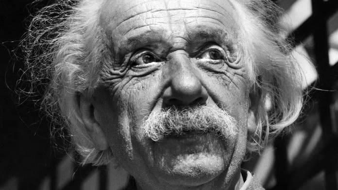 Rare Einstein audio recording of the famed physicist talking about the A-bomb surfaces