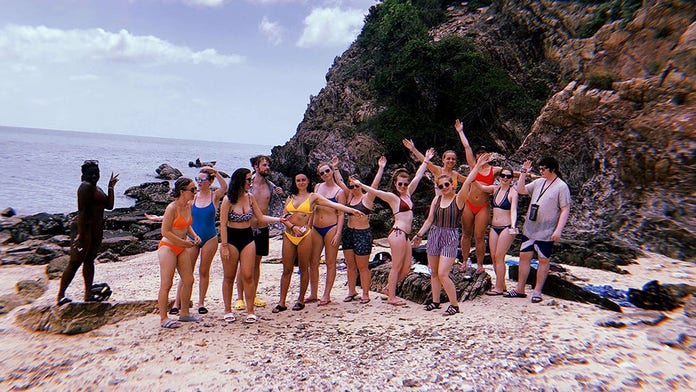 Tourists claim they were abandoned on snake-infested island after Thailand snorkeling scam