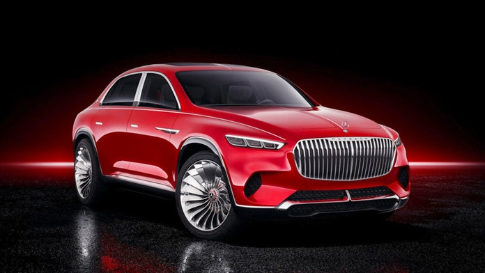 $200,000 Maybach SUV to be built in Alabama, report