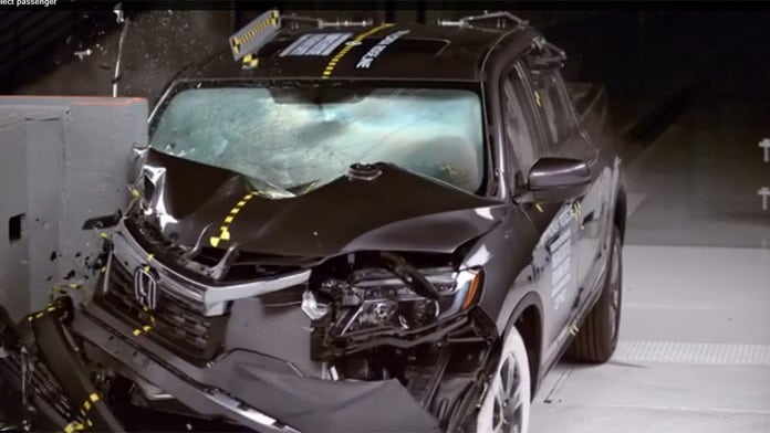 Honda Ridgeline named Top Safety Pick as some pickups struggle with new crash tests