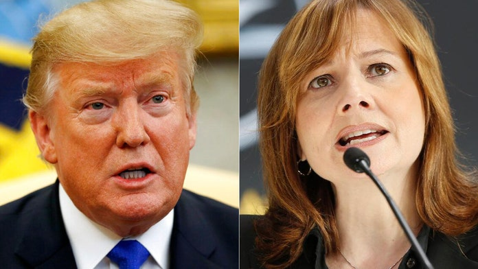 Trump calls GM's CEO Mary Barra in push to reopen Ohio auto plant