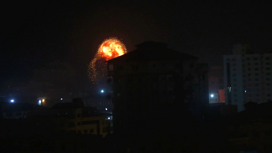 Israel strikes Gaza targets after Tel Aviv rocket attack