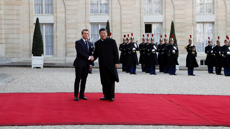 Xi arrives in Paris as Macron pushes for united European Union front
