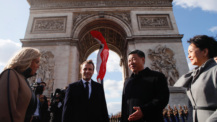 Macron praises ties between France, China